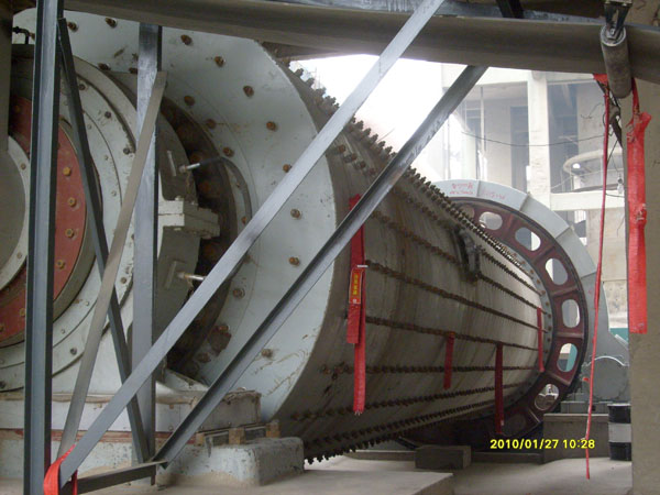 the large grinding mill was put into production in Jan. 2010 (3.2.13.5)